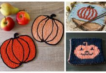 Pumpkin Coasters Free Knitting Patterns