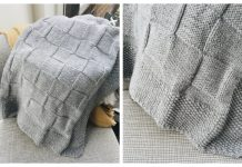 Simple Knit Baby Blanket Free Knitting Pattern