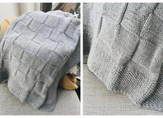 Simple Knit Baby Blanket Free Knitting Pattern