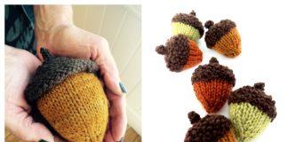 Amigurumi Acorn Free Knitting Patterns