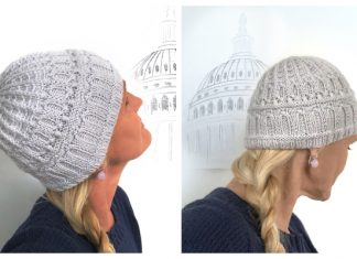 The Capitol Dome Hat Free Knitting Pattern