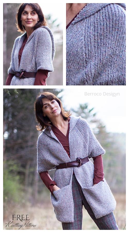 Tamarind Pocket Shawl Free Knitting Patterns