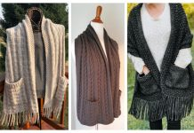 Pocket Shawl Knitting Patterns