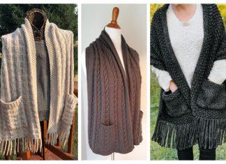 Pocket Shawl Knitting Patterns