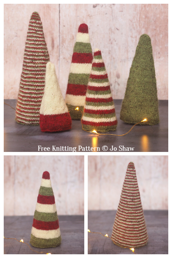Winter Grove Christmas Tree Free Knitting Patterns