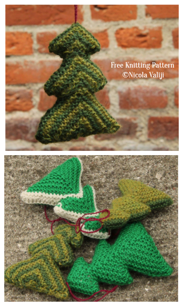3D Pinus Christmas Tree Free Knitting Patterns
