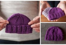 knit Calming Baby Hat Free Knitting Pattern