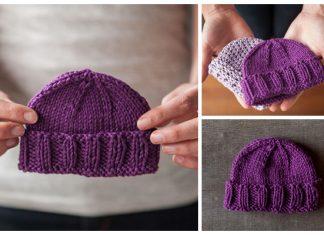 knit Calming Baby Hat Free Knitting Pattern