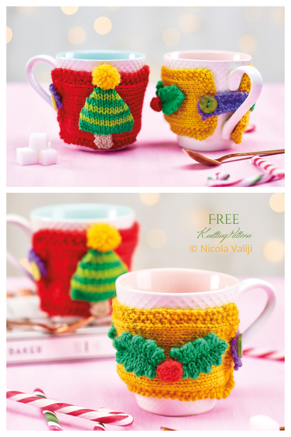 Noel Kupa Cosies Free Knitting Patterns