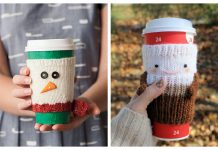 Christmas Mug Cozy Free Knitting Patterns