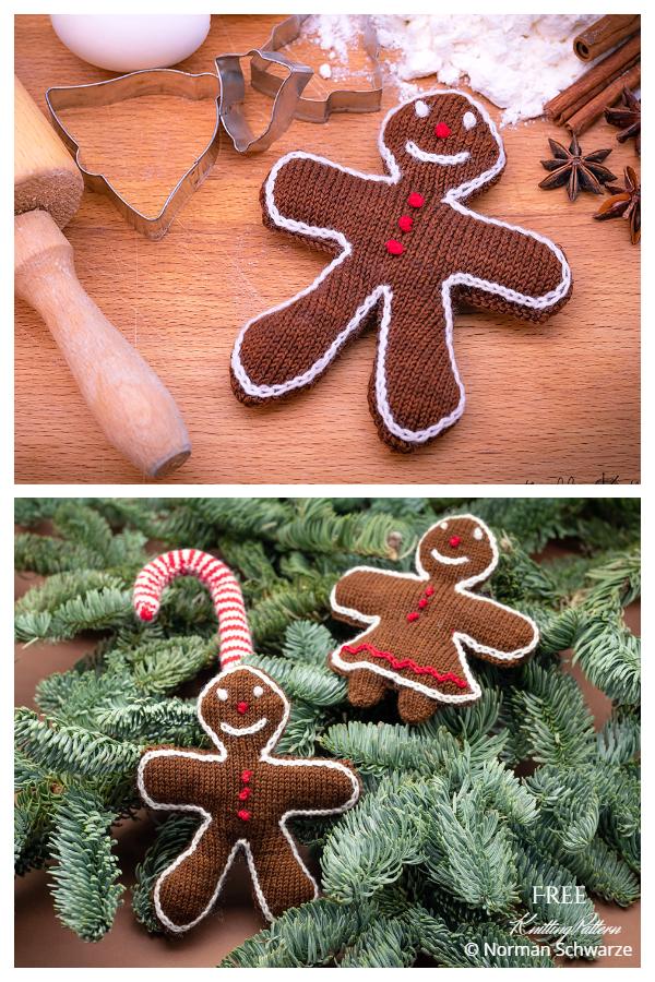 Amigurumi Gingerbread Man Ücretsiz Örgü Modelleri