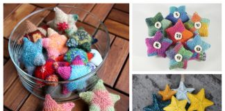 Knit Christmas Star Ornament Free Knitting Patterns