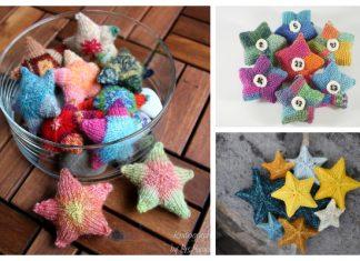 Knit Christmas Star Ornament Free Knitting Patterns