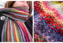 Mini Mania Scarf Free Knitting Pattern