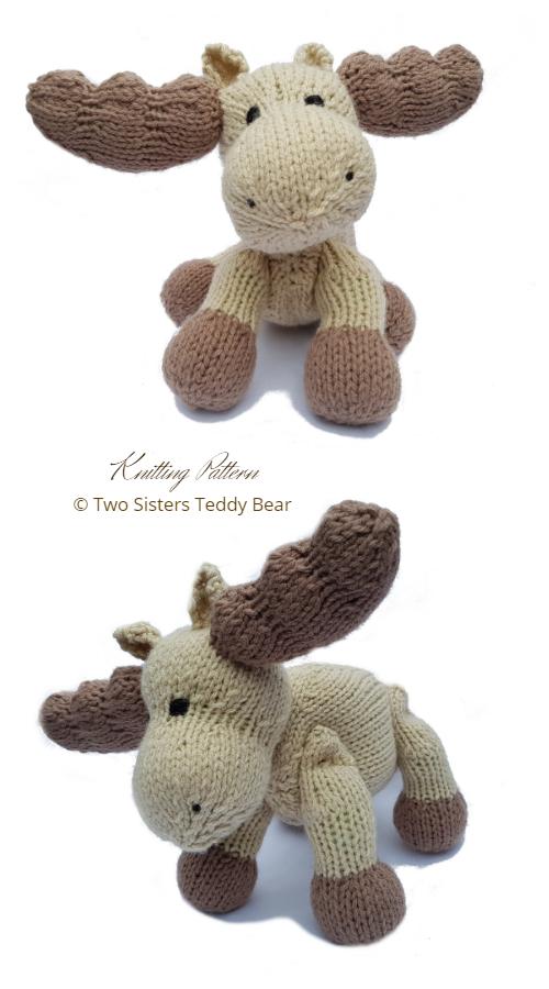 Amigurumi Moose Knitting Patterns