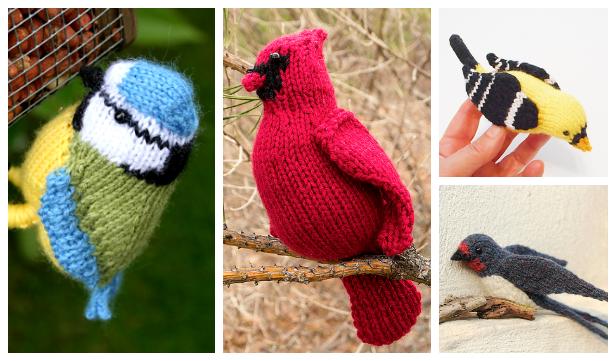 Amigurumi Bird Free Knitting Patterns - Knitting Pattern