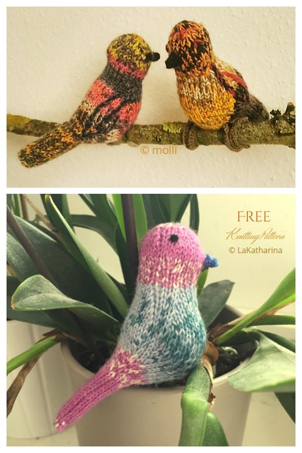 Amigurumi Birds of Paradise Free Knitting Patterns