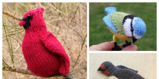 Amigurumi Bird Free Knitting Patterns