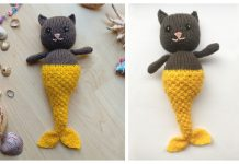 Amigurumi Purrmaid Free Knitting Pattern