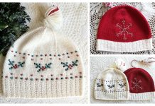 The Hostess Hat Free Knitting Patterns
