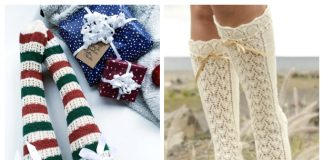 Knit Knee High Socks Free Knitting Patterns