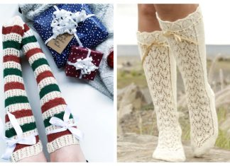 Knit Knee High Socks Free Knitting Patterns
