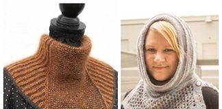 Tuck Cowl Free Knitting Patterns