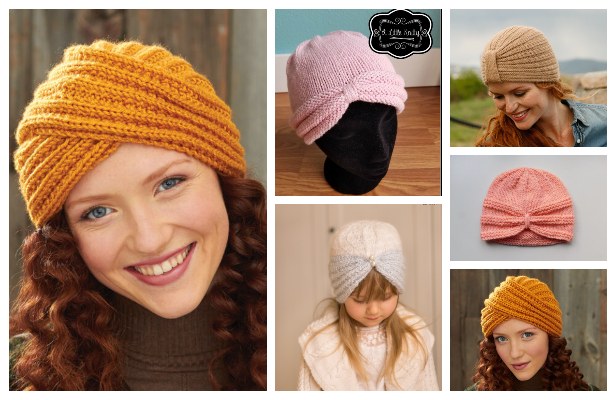 Turban Hat Free Knitting Pattern - Knitting Pattern