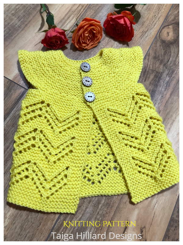 Wee Drew Light Baby Cardigan Knitting Patterns