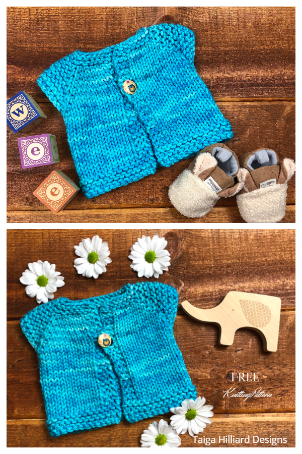 Wee Fast Baby Cardigan Free Knitting Patterns