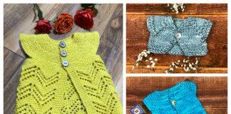 Wee Baby Cardigan Free Knitting Patterns