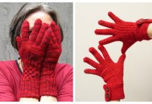 All Fingers Gloves Free Knitting Patterns