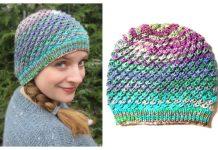 Fireworks Hat Free Knitting Pattern
