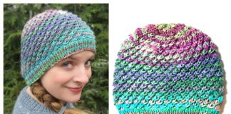 Fireworks Hat Free Knitting Pattern