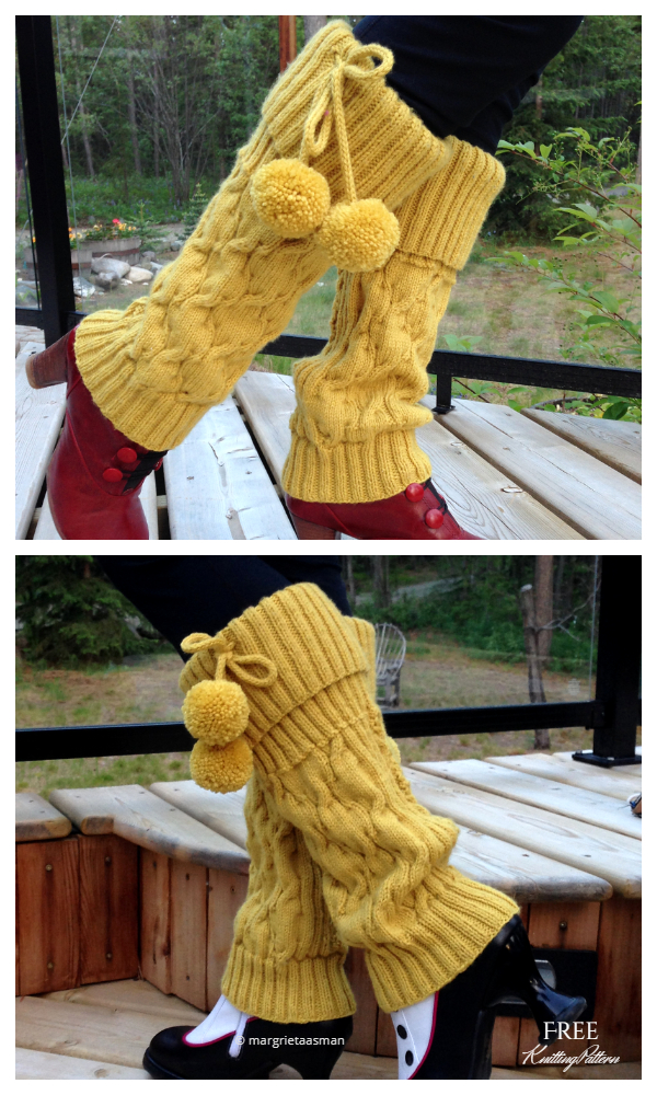 Knit Mosey Leg Warmers Free Knitting Patterns