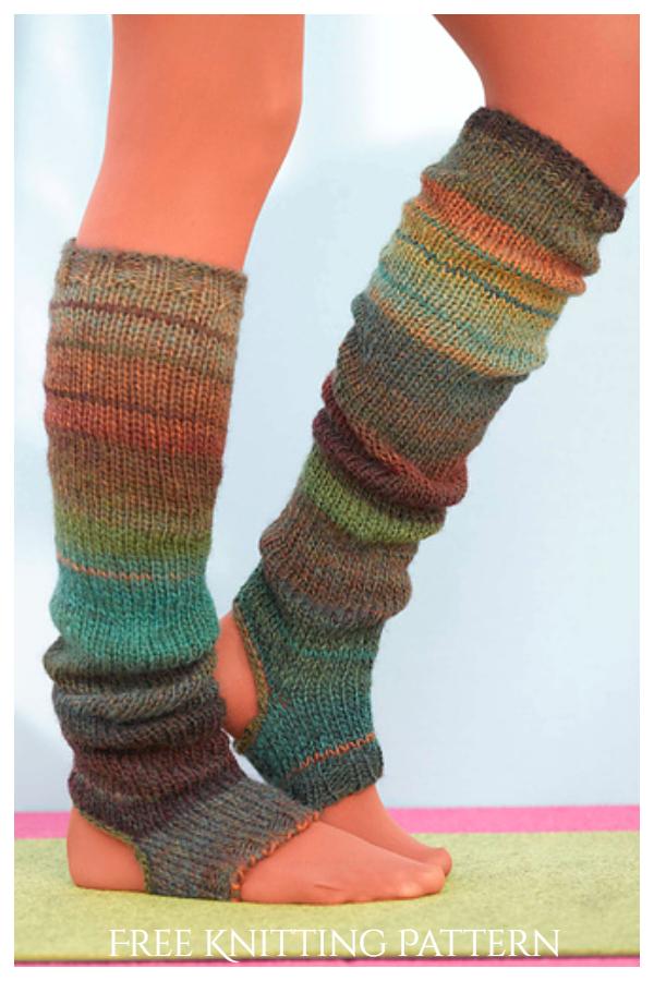 Sausalito Üzengi Çorap Bacak Isıtıcıları Ücretsiz Örgü Modelleri