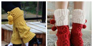 Knit Leg Warmers Free Knitting Patterns