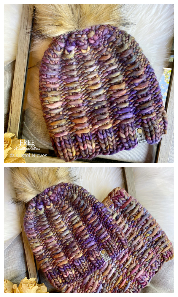 Super Bulky Frida Hat Free Knitting Patterns
