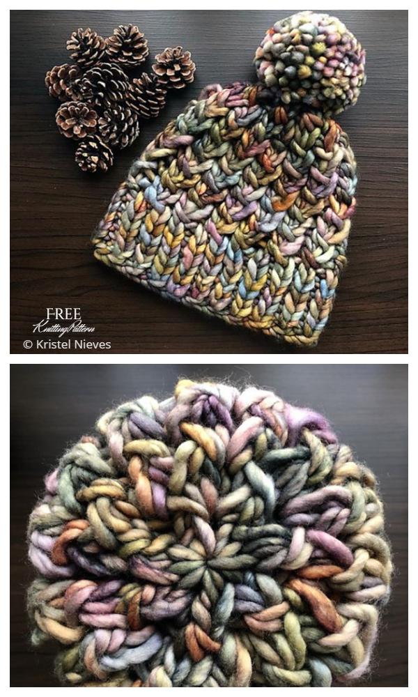 Super Bulky Bruma Hat Free Knitting Patterns