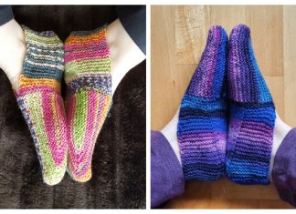 Unique Slippers Free Knitting Patterns
