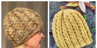 Winter Love Hat Free Knitting Pattern