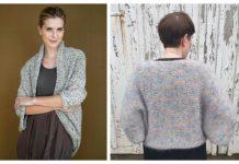 Women Shrug Cardigan Free Knitting Patterns