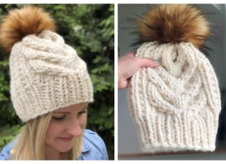 Char Char Cable Hat Free Knitting Pattern