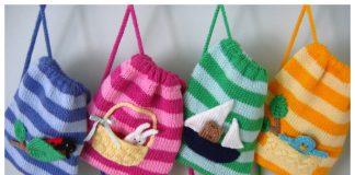 Fun Kids Buddy Bags Knitting Pattern