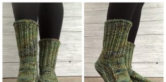 Knit Better Dorm Boots Free Knitting Patterns