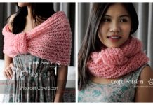 Knit Cowl Scarf Free Knitting Pattern