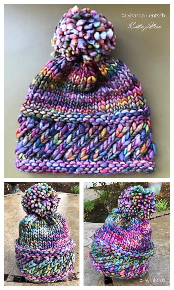Perky Little Hat Knitting Pattern