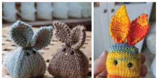 Knit Toy Bunny Buddies Free Knitting Patterns