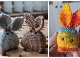 Knit Toy Bunny Buddies Free Knitting Patterns