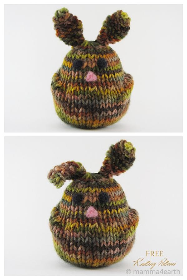 Tricot Bun-Bun le lapin Toy Bunny Patrons de tricot gratuits